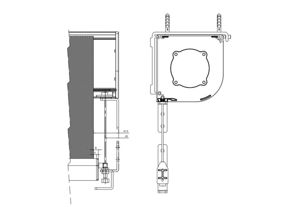 technische tekening screen