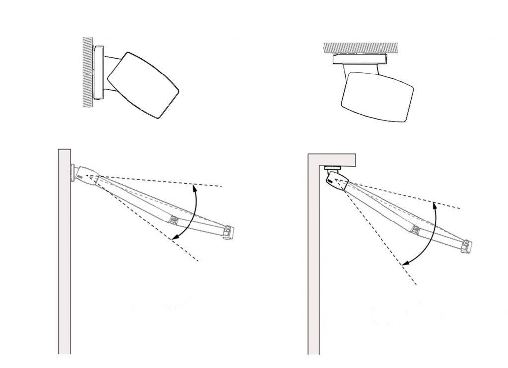 technische tekening montage zonwering